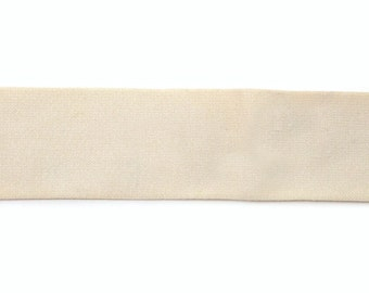 2 Inch Waistband Elastic in Cream from Riley Blake