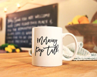 Morning Pep Talk Mug