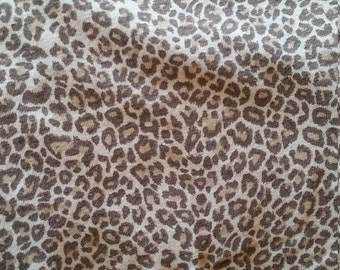 Animal print jersey with good stretch
