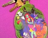 Halloween Nightmare - key chain