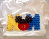Mom Mickey birthday shirt, Mom, Dad