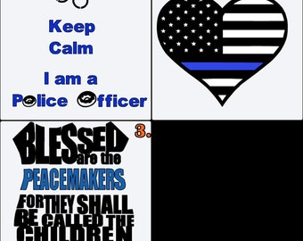 Police Support Decal