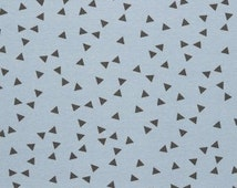 Triangle coordinating Jersey, Knit for children, fabric for t shirts, cotton jersey, 95/5 Sold by the half metre