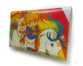 Rainbow Brite Purse - Upcycled Vintage Comic Book in Vinyl