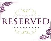 reserved for lynnekumar
