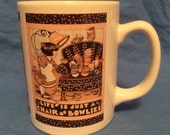 """Mary Englebreit - Life is Just a Chair of Bowlies """" mug/cup"""