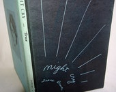 Night Cry Midcentury Poetry Book Irene Bruce Lithographed 416 out of 450 copies With Dust Jacket