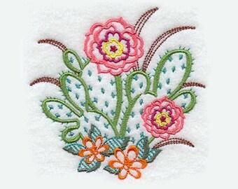 Beavertail Cactus Tea Towel | Personalized Kitchen Towel | Embroidered Towel | Embroidered Kitchen Towel | Hand Towel |Embroidered Tea Towel
