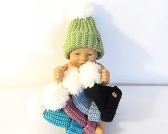 Crochet Baby Hats, Baby Boy, Baby  Girl, Baby Shower, Pom Pom Hats