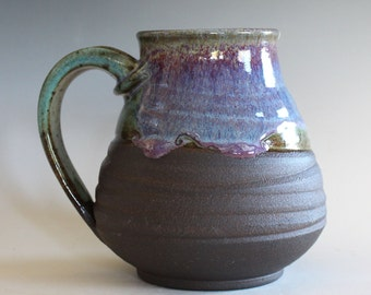 Extra Large Coffee Mug, 24 oz, handmade ceramic cup, tea cup, coffee cup