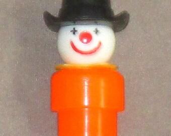 Fisher-Price Little People orange body Clown