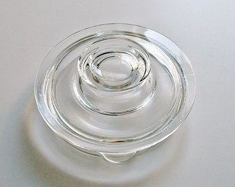 Pyrex Flameware Glass Lid Replacement Part Only for Glass Flameware 6 Cup Percolater Coffee Pot #7756
