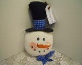 Snowman, Christmas, Snowman Head