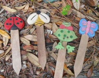 SPRING Plant Markers, Ready to Ship, STWOFG