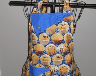Blueberry Muffins Women's Apron