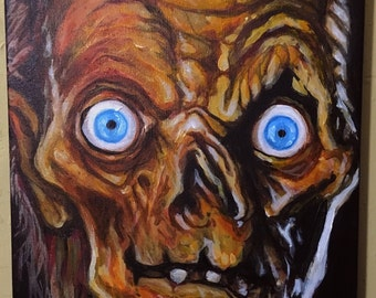 Crypt keeper painting