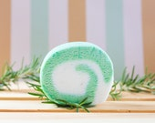 Rosemary Mint Bubble Bar - Solid Bubble Bath, Free Shipping
