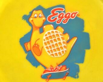 "Eggo ""Waffle Frisbee"" Flexible Rubber Flying Disc"