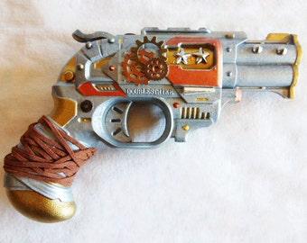 Steampunk Revolver Gun/Pistol CosPlay Prop
