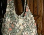 William Morris Golden Lily bag  - vintage fabric,  proceeds to charity