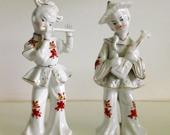 Japanese Porcelain Figurines