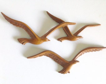 Mid-Century Seagull Wall Hanging