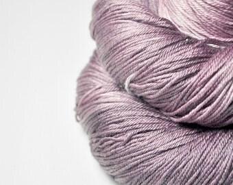 Rotten blueberry vanilla ice cream OOAK - Merino/Silk Fingering Yarn Superwash