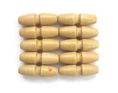 small wooden toggle buttons , 35mm long toggles , baby clothes buttons , set of 10 toggles , 3.5cm wood toggles , small buttons