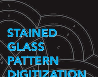 Stained Glass Pattern Digitization Service