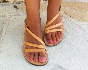 SUMMER SALES Leather sandals women, wedding sandals ,greek sandals
