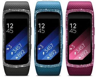 Samsung Gear Fit2 (Large) Black,Pink,Blue