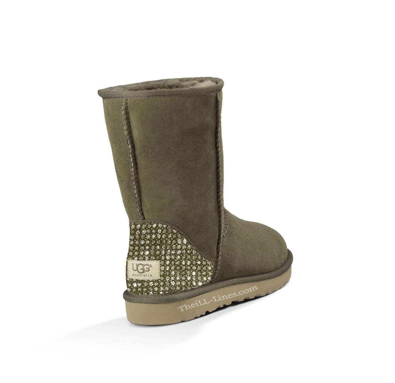custom ugg boots grey ugg boots classic uggscrystal