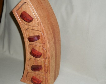 5 Drawer Red Oak Bandsaw Jewelry/Keepsake box