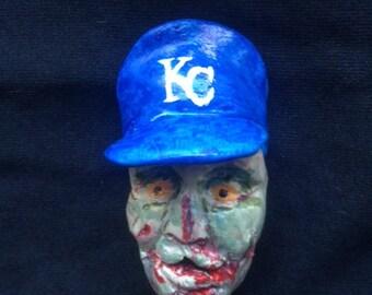Zombie Kansas City Royals Magnet