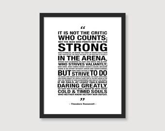 Man in the Arena // Digital Download