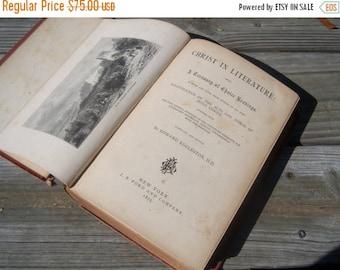 Antique Christ In Literature Book 1875  Online Vintage, vintage clothing, home accents, vintage dress