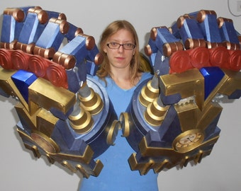 Vi fists and body armor from League of Legends