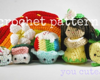 CROCHET PATTERN- My Little Aloha-