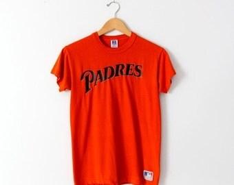 SALE 1980s San Diego Padres t-shirt, vintage baseball tee