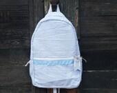 Personalized Seersucker Backpack - Toddler - Preschool Backpack Bookbag - Boys