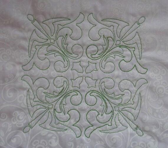Machine embroidery quilt designs download redwork