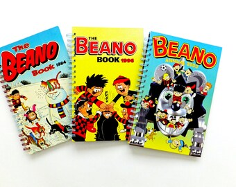 Beano Notebook - upcycled journal -  Beano Journal, Gift for Dad, Under 15