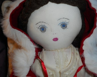 Handcrafted Doll Red Riding Hood
