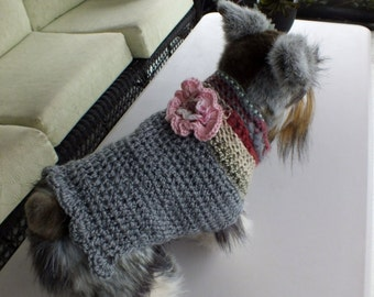 Dog Sweater Chihuahua 11 inches long