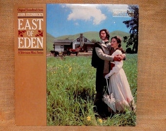 EAST of EDEN - Original Motion Picture Soundtrack...A Television Mini-Series - 1981 Vintage Vinyl Record Album