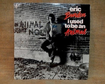 Eric Burdon - I Used to be an Animal - 1988 Vintage Vinyl Record Album