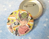 Sushi Demon Boy Button