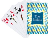 6 Sets Custom Playing Cards with customer supplied artwork