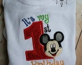 First Birthday Mouse Outfit