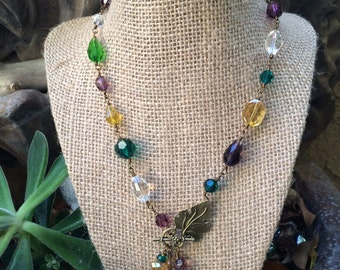 Custom Made Necklace.  You pick the colors!